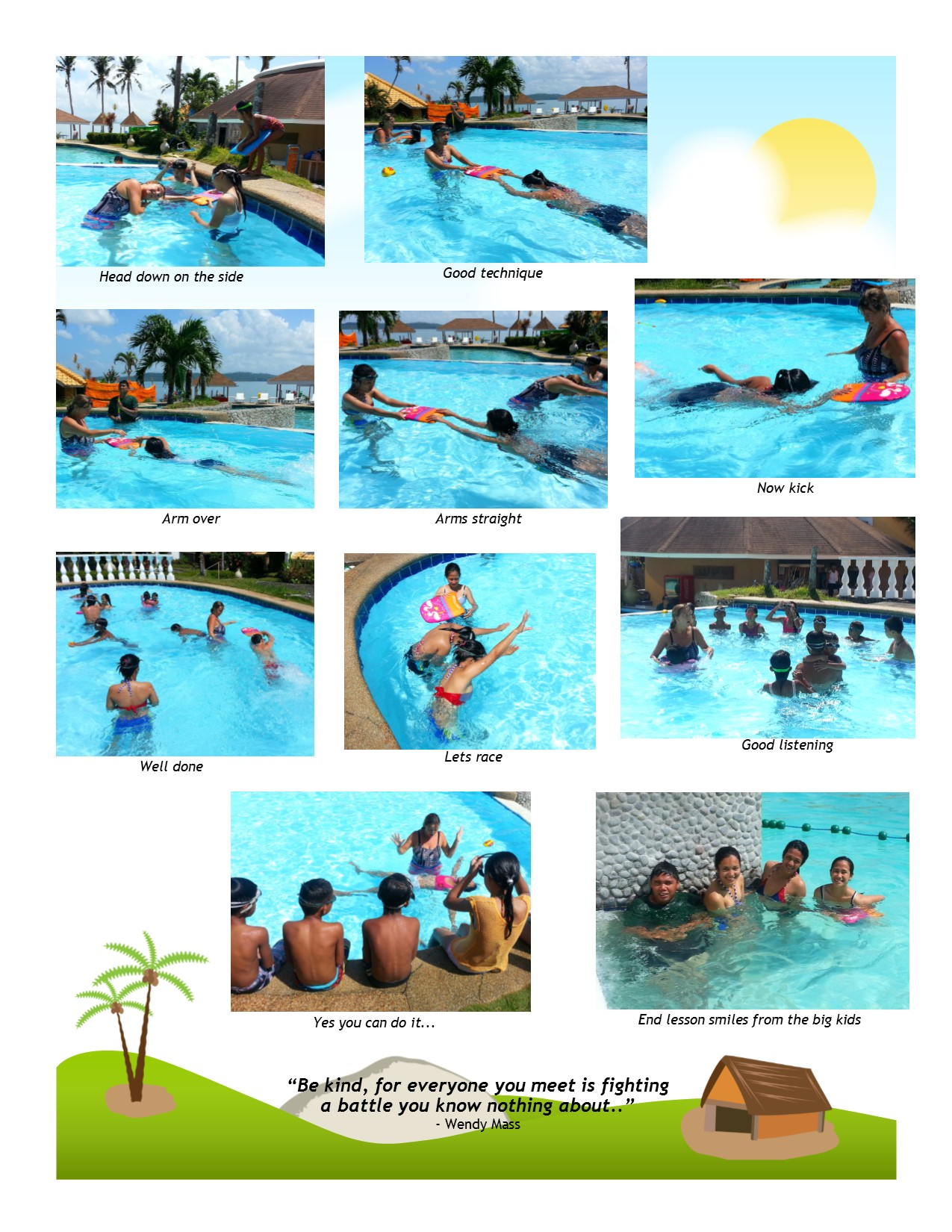 International Aid Projects Update - Project swim March 2015 - Page 4