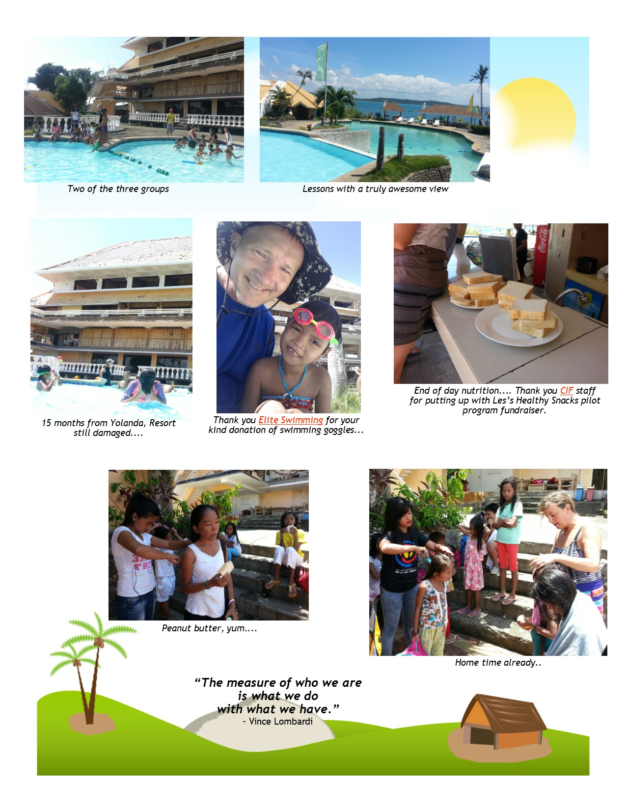 International Aid Projects Update - Project swim March 2015 - Page 5