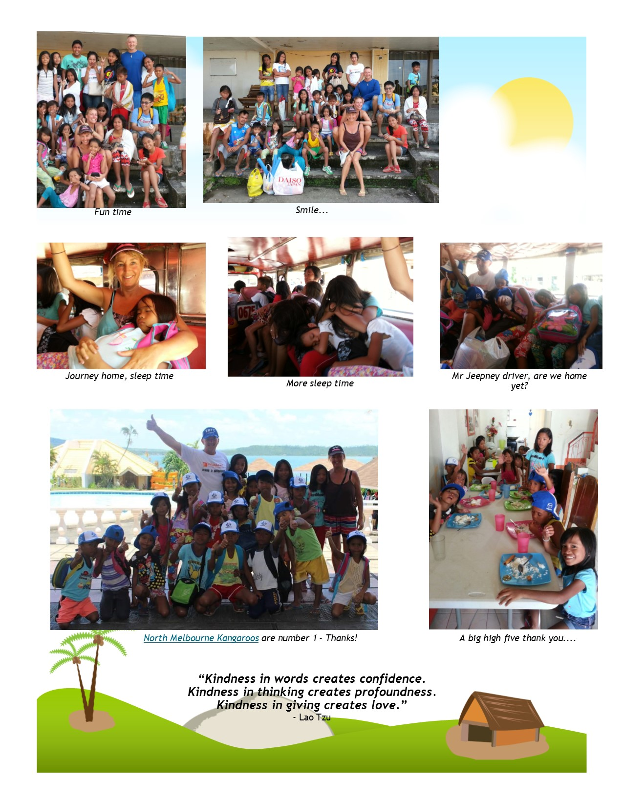 International Aid Projects Update - Project swim March 2015 - Page 6